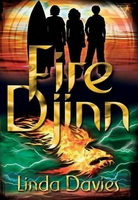 Cover of Fire Djinn by Linda Davies.