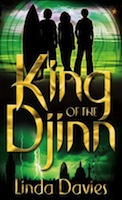 Cover of King of the Djinn by Linda Davies.