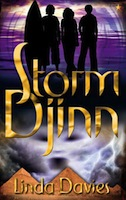 Cover of Storm Djinn by Linda Davies.