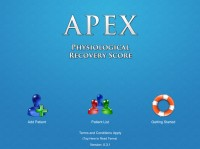 APEX Physiological Recovery Monitoring App