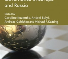 Book: Dynamics of Energy Governance in Europe and Russia