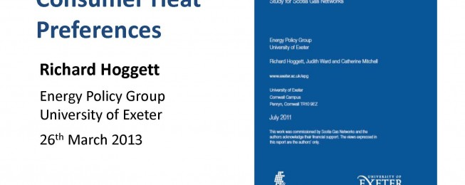 Presentation: Understanding Consumer Heat Preferences