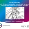 Presentation & Paper: Smart grid-lock?