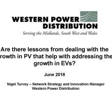 Presentation: Are there lessons from dealing with the growth in PV that help with addressing the growth in EVs?