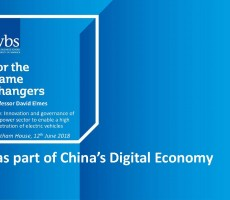Presentation: EVs as part of China's Digital Economy