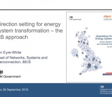 Presentation: Ben Eyre-White, BEIS