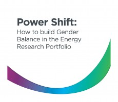Building gender balance in the energy research portfolio