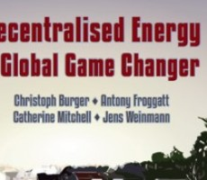 Book: Decentralised Energy