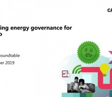 Presentations: Reforming energy goverance for net zero